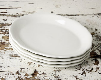 Vintage Restaurant Ware Platter - Oval Plate - Buffalo China - Caprice