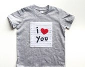 Heart TShirt Kids, Love Shirt, Valentines Day Shirt, Valentine Tee Shirt, Boys TShirt, Baby Shirt, Boys Valentines Day Outfit, Baby Shower