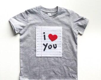 Heart TShirt Kids, Love Shirt, Valentines Day Shirt, Valentine Tee Shirt, Boys TShirt, Baby Shirt, Boys Valentines Day Outfit, Baby Shower