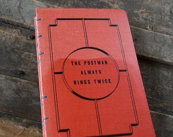 1945 POSTMAN Vintage Notebook Journal