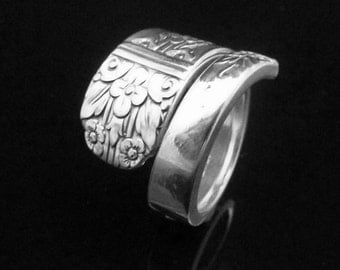Floral Spoon Ring, Margate aka Arcadia 1938