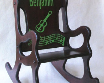 Rocking Chair - Musical Theme with guitar and musical score