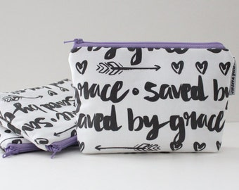 simple pouch -- saved by grace