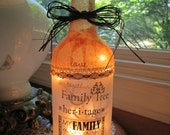 wine bottle lights,wine bottle lamp,wine bottle light,lighted bottles,lighted wine bottles,lamp,lamps,lighting,home and living,family gifts