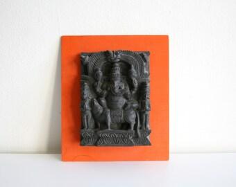 Ganesh Carved Wall Hanging