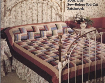 Quilting for People Who Don't Have Time to Quilt - Book One by Marti Michell TIB12399