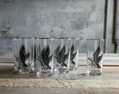 12 Pc Vintage Labrador Goose Glasses