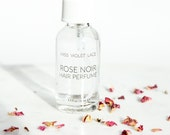 Valentine's Day Gift | Rose Noir Hair Perfume | Sexy Perfume | 100% natural and vegan - TRAVEL SIZE