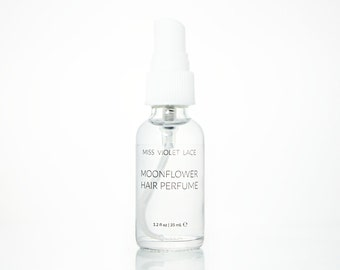 Moonflower Hair Perfume   Strawberry + Lavender   100% natural and vegan - TRAVEL SIZE