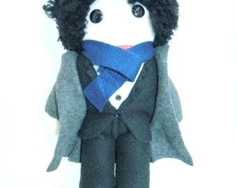 Sherlock Plush Doll