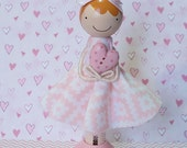 SweetHeart Kimberly Miniature Wooden Clothespin Doll