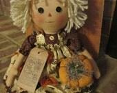 Pumpkin Raggedy Ann