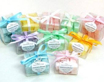 Sugar Cube Favor- 15 Wedding Sugar Cube Favors, Shower Tea Party, High Tea, Mad Hatter Tea Party, Edible Favor, Flavored Sugar, Heart Charm
