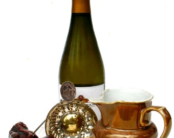 Vintage French Bistro Waiters Wine Tasting Set Up- Barware -Paris Bistro /Cafe Style