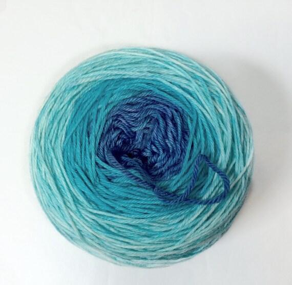 Gradient Yarn, SALE, MCN, Hand Dyed Sock Yarn, Hand Dyed, Merino, Cashmere