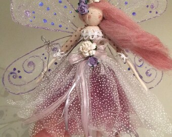 Dream Catcher - Large Winged Fairy