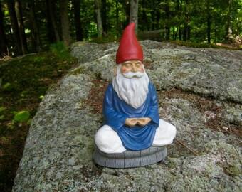Garden gnome statue Etsy