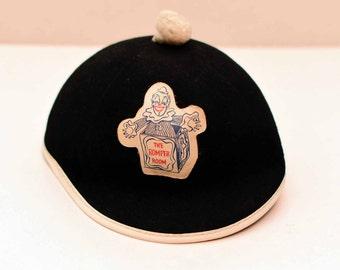 Romper Room Hat Felt Beanie  1960's
