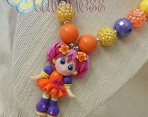Springtime Girl Chunky Necklace - Adorable