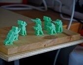 Toy Soldier Army Men Soap set Military Miniature Mini soaps figurine figure favors for kids children men women veteran birthday gift for dad
