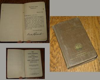 WW II  - Soldier's Bible - Catholic Personnel U.S. Army Militaria