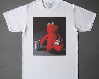 Elmo's Monday Morning printed T-shirt (made to order)