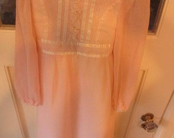Vintage Gunne Sax Flower Girl Dress 6x