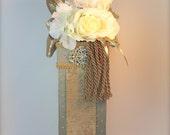 Valentine Wine Holders Wine Holders Elegant Pretty Bridal Shower Gift Idea, Bride and Groom, Champagne Holder, Wine holder, Pre-wrapped