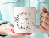 Wedding gift, personalized mug, wedding couple personalized mug gift