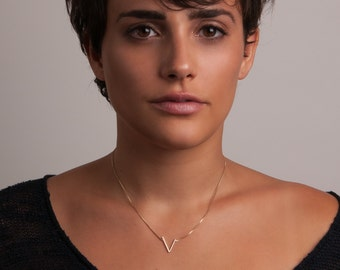 Silver or Gold-Fill Clockwork Charm Necklace on Box Chain   Sequence Collection by Haley Lebeuf