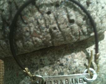 "Inspirational PMC bracelet ""IMAGINE"""