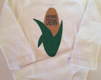 HOME GROWN Onesie - Corn