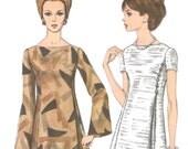 Vintage A-line dress pattern -- Vogue 7139
