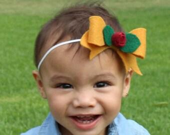 Fall Mustard Headband