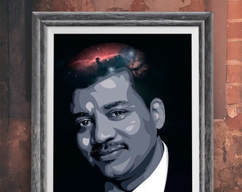 Neil Degrasse Tyson Pop Art Home Decor Wall Art Poster print