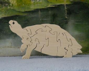 Wooden Turtle Puzzle