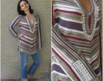 Vintage Tunic Sweater, size M
