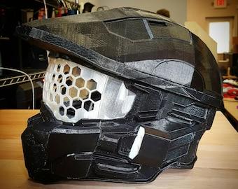 Halo Helmet 3D Printed Full-Size Costume Piece