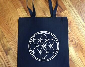 Seed of Life Sacred Geometry - Tote Bag