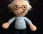 Bernie Sanders doll for your campaign DONATION - feel the bern - Ready to ship
