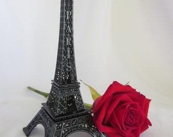 Black Eiffel Tower, Cake Topper