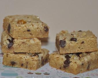 8 Blondies Bars Chewy Fresh Cookie Brownie Edible Gift