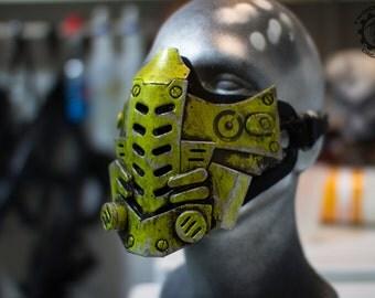 Xenogeist - Cyberpunk dystopian mask ''Mutron'' Variant. - Ready to ship