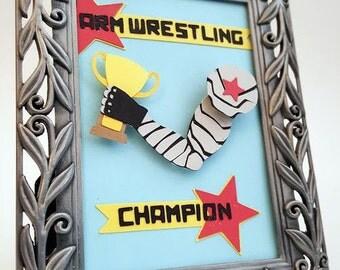 Arm Wrestling Champion - Mini Frame