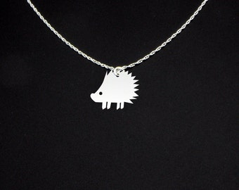 Porcupine Necklace - Porcupine Jewelry - Porcupine Gift