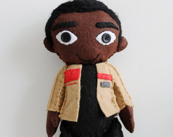 Finn The Force Awakens Plush Star Wars Felt Doll