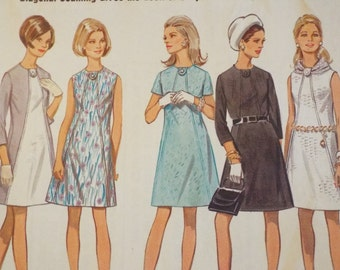 You get an A line for this dress! Butterick 5307 uncut