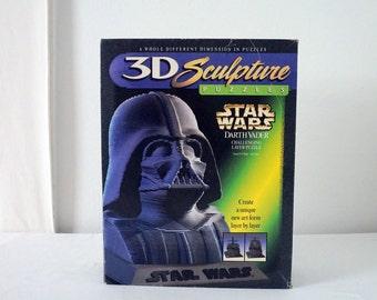 3D Darth Vader Star Wars Vintage Sculpture Puzzle Game