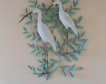 Copper Ibis on Branch