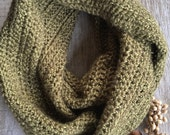 Infinity Scarf/ Soft acrylic/ The LUCY LOVE double wrap scarf